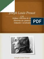 Seminário de Joseph Louis Proust
