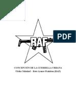 Concepción de la guerrilla urbana (RAF)