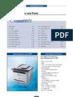 CLX-3170-3175 Parts