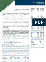 Market Outlook 08.04.13