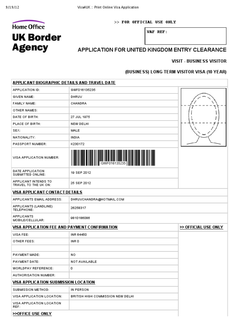 1486496192 Visa Application Form Desh New Delhi on