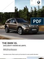 BMW X5 Catalogue