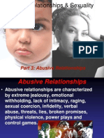 Abusive Relationshipss