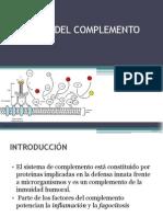 Inmunologia Sistema Del Complemento