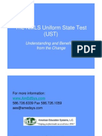 The NMLS Uniform State Test