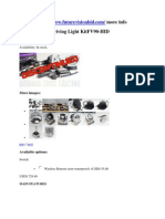 HID Auxiliary Driving Light KitFV90-HID
