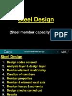 4. Steel Member Design (Structure Facade)