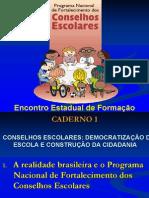 Caderno Sobre Conselhos Escolares