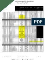 2013 Spring Tenative Schedule101012