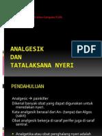 Referat-Analgesik Dan Tatalaksana Nyeri