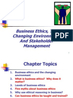 1business Ethics the Changing Environemnt and Stakeholder Management (1)
