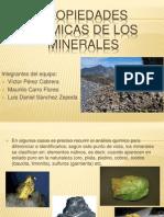 Propiedades Quimicas de Los Minerales