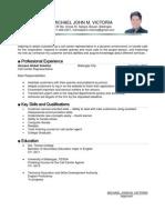 Resume Call Center