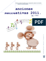 Canciones Recreativas 2011
