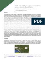 Geofisica Correlazioni tra l'attività sismica in Garfagnana-Lunigiana,nel periodo Gennaio-Febbraio 2013, ed i livelli di gas radon e radioattività nell' area della Spezia