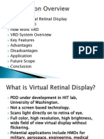 Virtual Retinal Display
