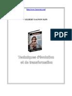Technique d évolution et de transformation_Gilbert Gagnon_7 pouvoirs.com _136 pages