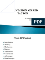 red tacton.ppt