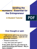 Student Tutorial on Financial Statements