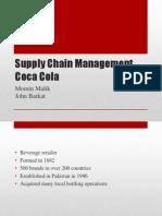 Supply Chain of Coke