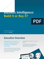 Business Intelligence Build Buy eBook One