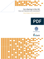 Car Sharing in the UK