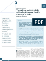 The role of the private sector in achieving universal healthcare in India