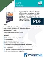 MasaRoca Impermeabilizante PCE_proceso