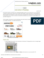How to Create Watermark Action in Photoshop _ Linglom.pdf