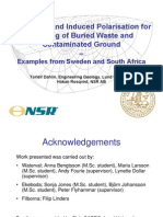 Geoelectrics for Mapping a Buried Waste and Contaminated Ground