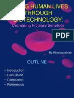Decreasing Protease Sensitivity