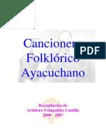 Cancionero Folklorico Ayacuchano