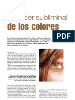 El Poder Subliminal de Los Colores