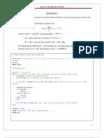 Matlab Solution 1