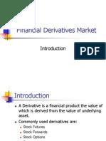 The Derivatives Market - FD Ch 1