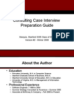Mba 1 Case Interview Prep Slides
