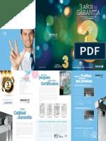 Folleto calidad garantizada. Profiltek.pdf