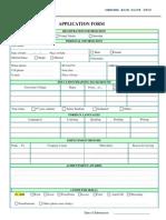 Application Form SAE 2013