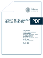 Poverty in the Lesbian, Gay and Bisexual Community