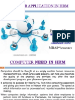 Computer Application in Hrm Final