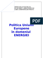 Referat Final Politica Ue Energie
