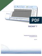 Radan 7 User Manual
