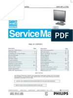AOC Service Manual HP-L1740_A00 Monitor Lcd