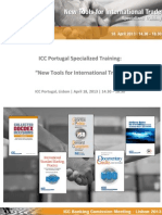 icc portugal specialized training - new tools for international trade