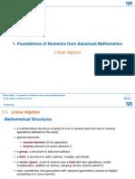 02 Handout Linear Algebra