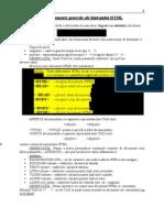 Elemente generale ale limbajului HTML