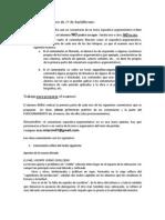 Actividades y contenidos para preparar prueba extraordinaria 2º de Bachillerato