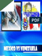 Comparacion Mexico Venezuela