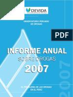 Informacion Sobre Drogas 2007