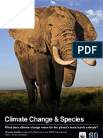 WWF Climate Change and Species